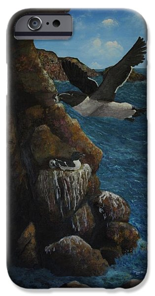 Razorbills IPhone 6s Case by Eric Petrie