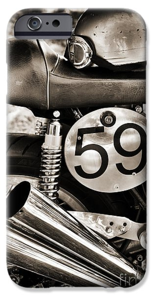 Ready To Race IPhone Case by Tim Gainey