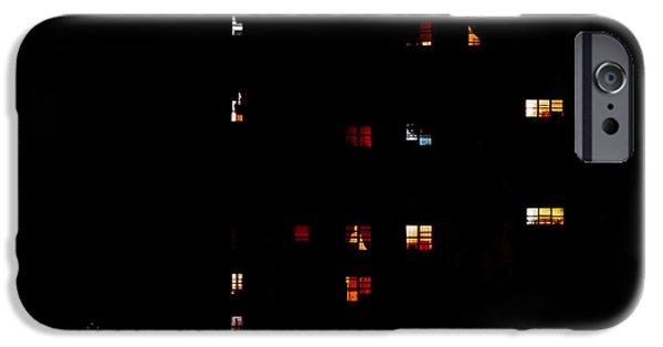 Rear Windows IPhone 6s Case by Rona Black