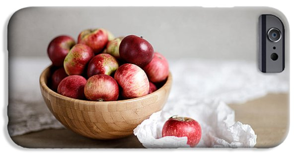 Red Apples Still Life IPhone 6s Case by Nailia Schwarz