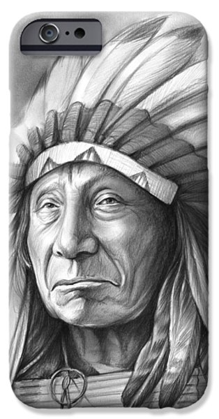 Red Cloud IPhone Case by Greg Joens