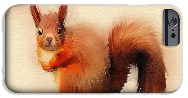 Red IPhone Case by John Edwards