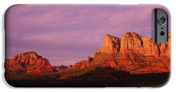 Red Rocks Country, Arizona, Usa IPhone Case by Panoramic Images