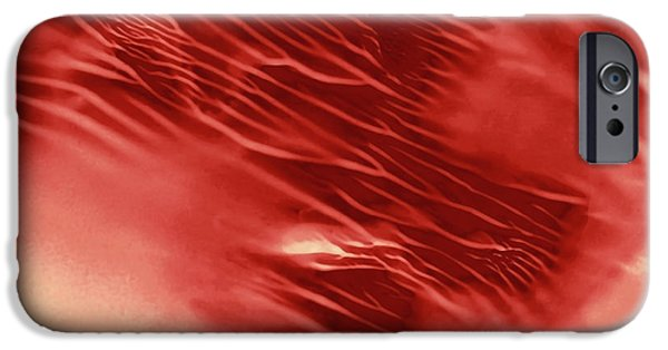Red Rush Of Color IPhone Case by Amy Vangsgard
