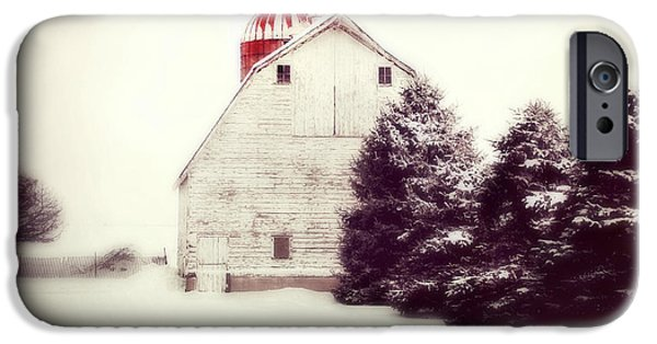 Red Silo IPhone Case by Julie Hamilton