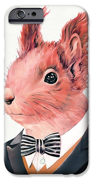 Red Squirrel IPhone 6s Case by Animal Crew