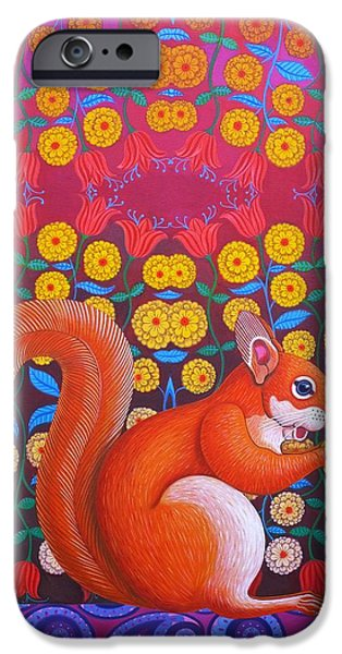 Red Squirrel IPhone 6s Case by Jane Tattersfield
