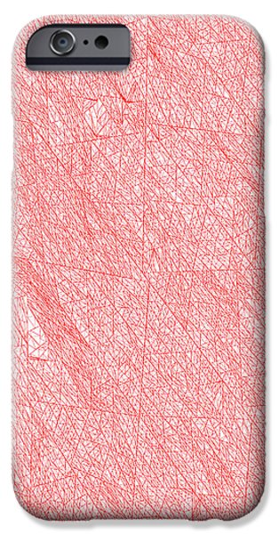 Red.272 IPhone Case by Gareth Lewis