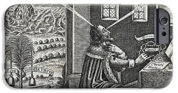Reliquiae Sacrae Carolinae, Charles I IPhone Case by Folger Shakespeare Library