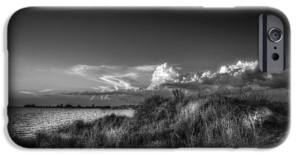 Restless Sky - Bw IPhone Case by Marvin Spates
