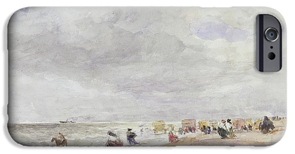 Rhyl Sands IPhone Case by David Cox