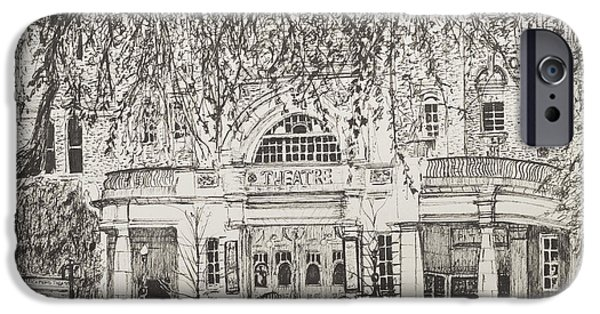 Richmond Theatre London IPhone Case by Vincent Alexander Booth