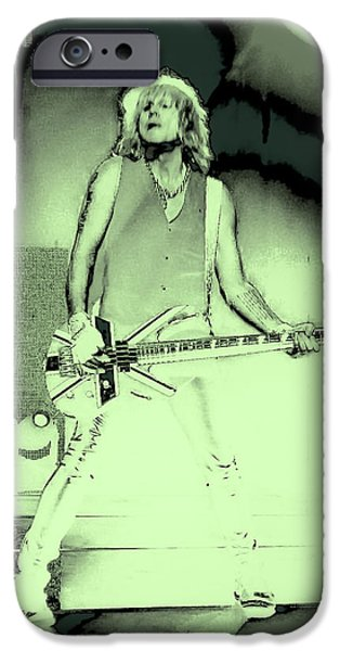 Rick Savage - Def Leppard IPhone 6s Case by David Patterson