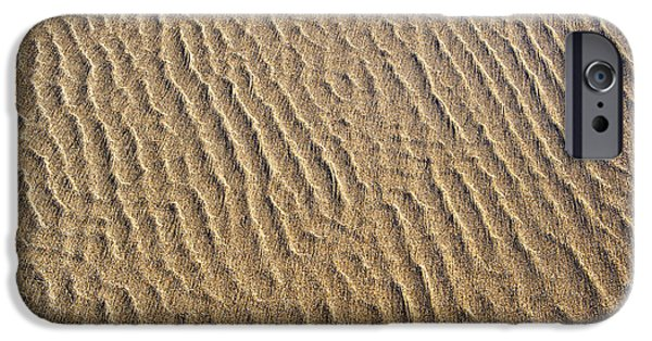 Ripples In The Sand IPhone Case by Tim Gainey