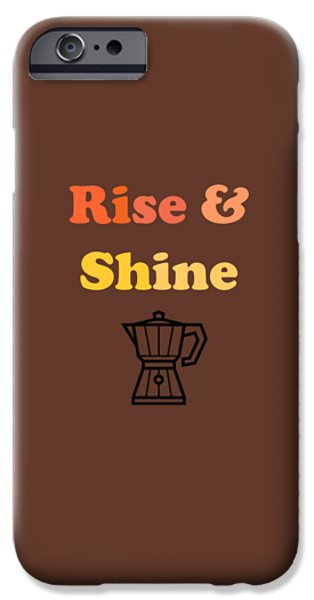 Rise And Shine IPhone Case by Rosemary OBrien