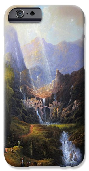 Rivendell. The Last Homely House.  IPhone 6s Case by Joe Gilronan