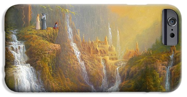 Rivendell Wisdom Of The Elves. IPhone 6s Case by Joe  Gilronan