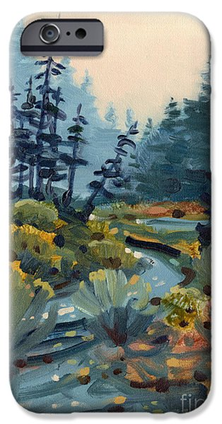 River Bend IPhone Case by Donald Maier