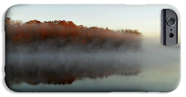 River Mist IPhone Case by Sheri McLeroy