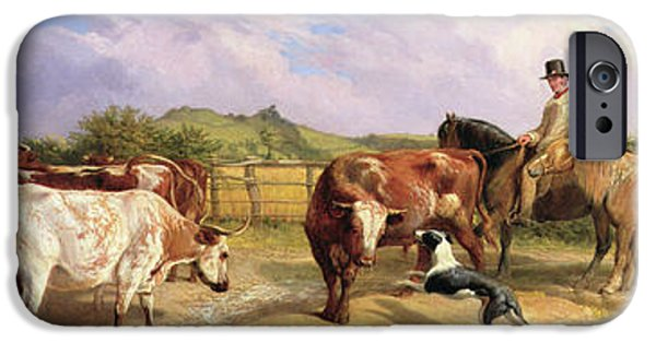 Road To Gloucester Fair IPhone Case by Briton Riviere