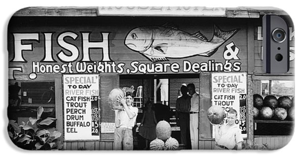 Roadside Stand Near Birmingham, Alabama IPhone Case by Walker Evans