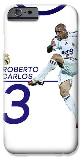 Roberto Carlos IPhone 6s Case by Semih Yurdabak
