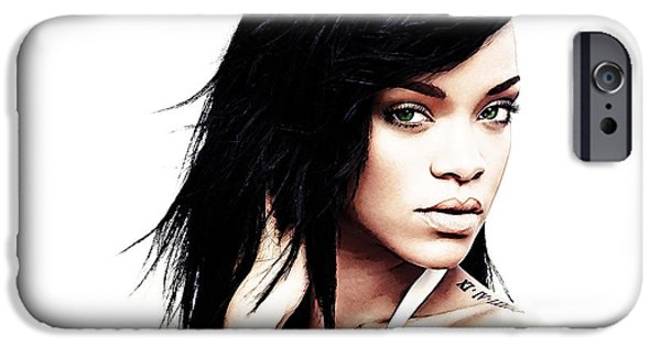 Robyn Rihanna Fenty IPhone 6s Case by The DigArtisT