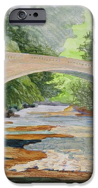 Rock Creek Bridge 3 IPhone Case by Bethany Lee