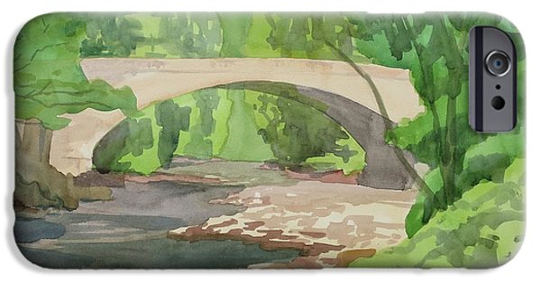 Rock Creek Bridge 4 IPhone Case by Bethany Lee