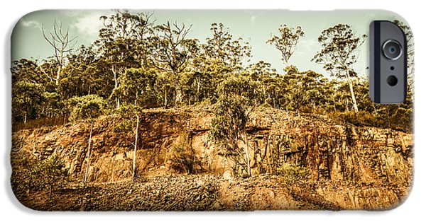 Rock Quarry Landscape IPhone Case by Jorgo Photography - Wall Art Gallery