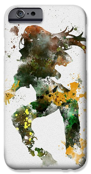 Rogue IPhone Case by Rebecca Jenkins