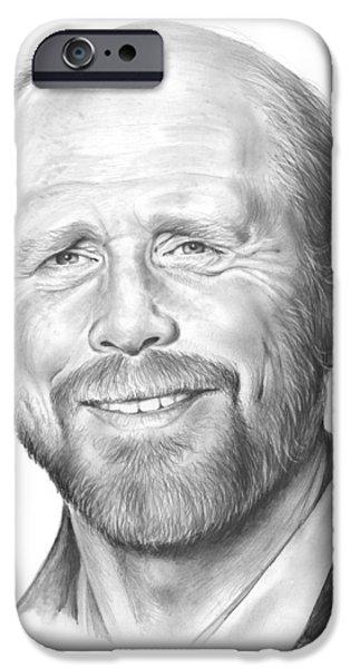Ron Howard IPhone Case by Greg Joens