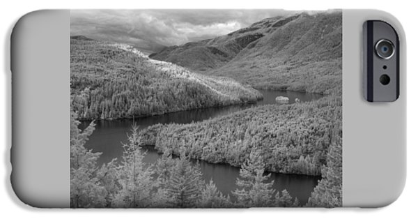 Ross Lake Ir 0503 IPhone Case by Bob Neiman