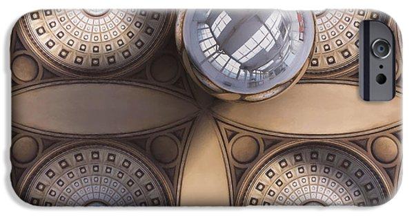 Rotunda 4 Ways IPhone Case by Scott Norris