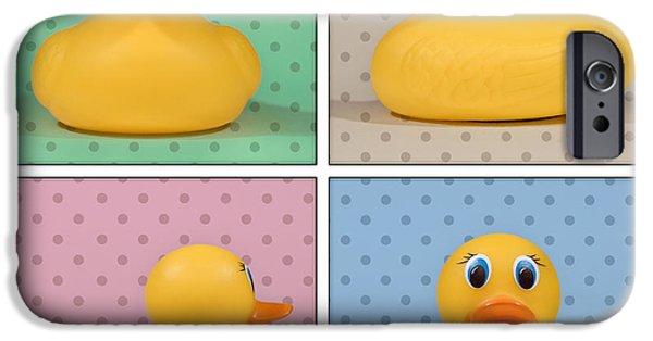 Rubber Ducky IPhone Case by Scott Norris