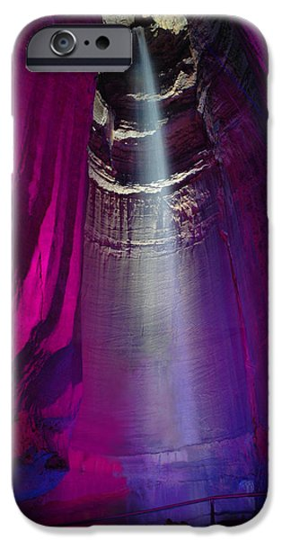 Ruby Falls IPhone Case by Edwin Verin