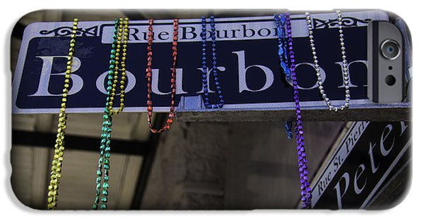 Rue Bourbon IPhone Case by Garry Gay