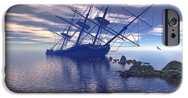 Run Aground IPhone Case by Claude McCoy
