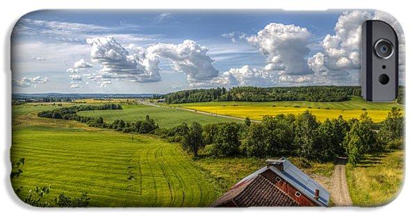Rural Landscape IPhone Case by Veikko Suikkanen