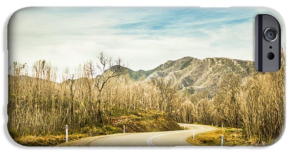 Rural Road To Australian Mountains IPhone Case by Jorgo Photography - Wall Art Gallery