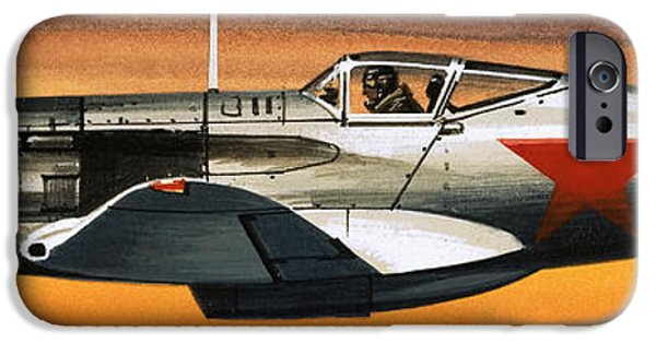 Russian Mikoyan-gurevich Fighter IPhone Case by Wilf Hardy