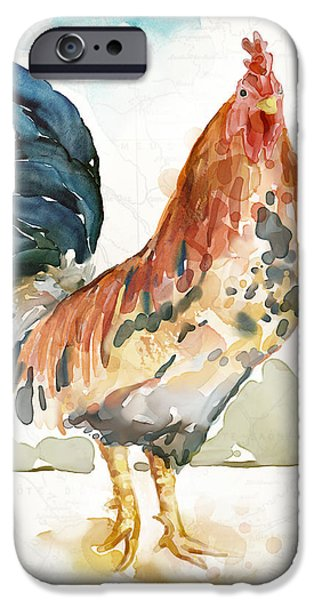 Rust Rooster IPhone 6s Case by Mauro DeVereaux