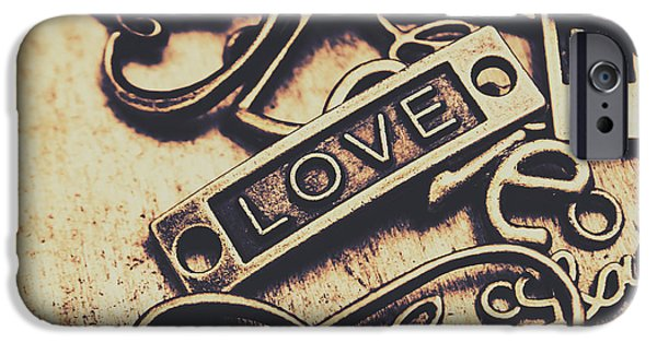 Rustic Love Icons IPhone 6s Case by Jorgo Photography - Wall Art Gallery