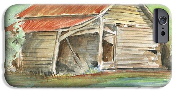 Rustic Southern Barn IPhone Case by Greg Joens