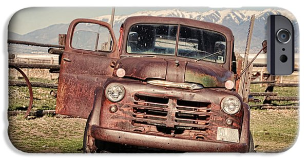 Rusty Old Dodge IPhone Case by Ely Arsha