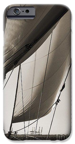 Sailing Beneteau 49 Sloop IPhone Case by Dustin K Ryan