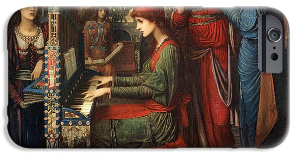 Saint Cecilia IPhone Case by John Melhuish Strudwick