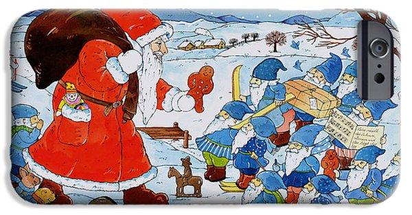 Saint Nicholas IPhone Case by Christian Kaempf
