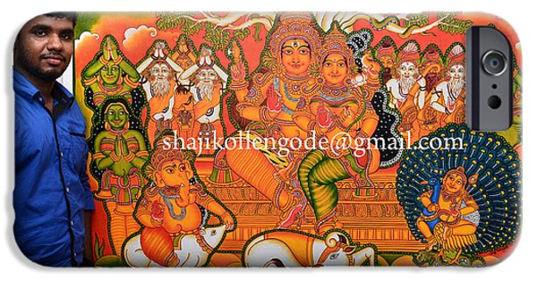 Kerala drawings iphone 6s cases for sale for Ananthasayanam mural painting