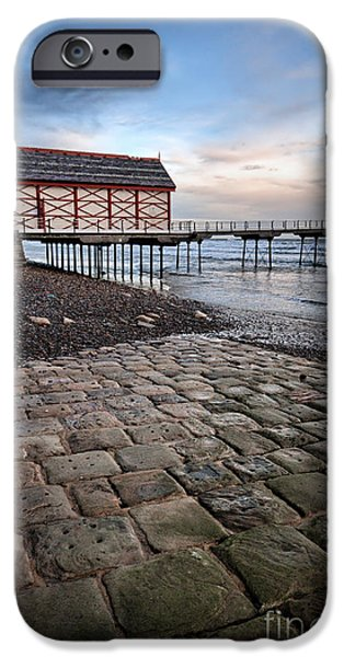 Saltburn By The Sea IPhone Case by Stephen Smith